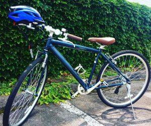 夏のクロスバイク
