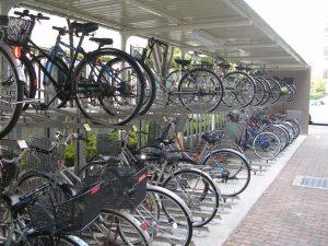 2段式駐輪場
