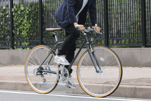 クロスバイク通勤