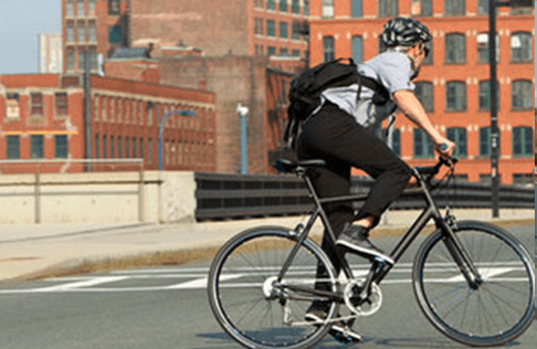 ロードバイクで通勤