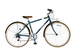 泥除け付きクロスバイク