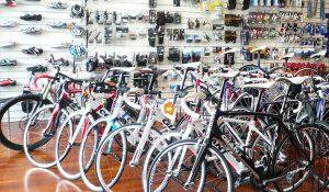 自転車の店舗
