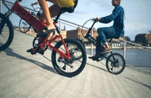 通勤自転車_坂道は電動自転車