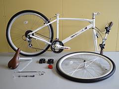 自転車の9部組