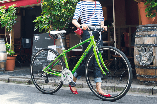 通勤自転車で女性におすすめのクロスバイク