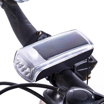 自転車ライト_ソーラー充電式