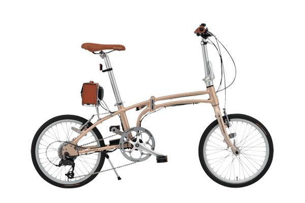 電動アシスト自転車の折りたたみタイプ