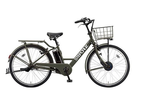 電動アシスト自転車_ブリヂストンステップクルーズe