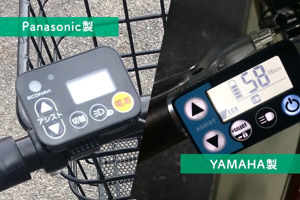 電動アシスト自転車の液晶ディスプレイ