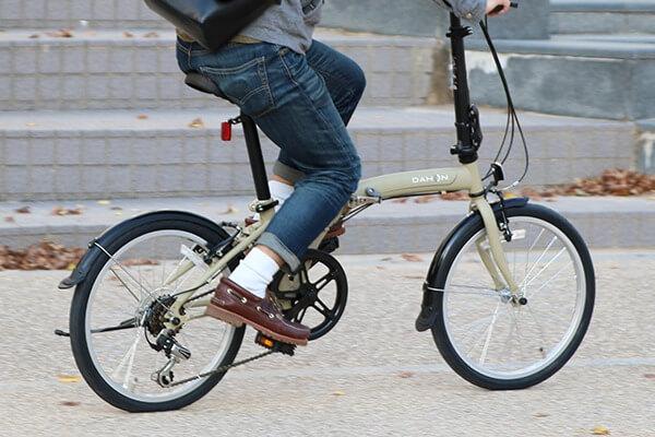 何キロくらいの折りたたみ自転車がおすすめ?