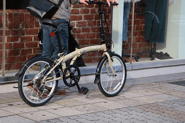 通勤など日常使いに適した折りたたみ自転車