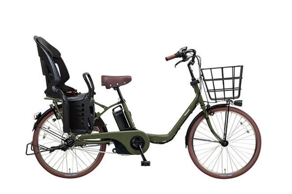 22インチの子供乗せ自転車