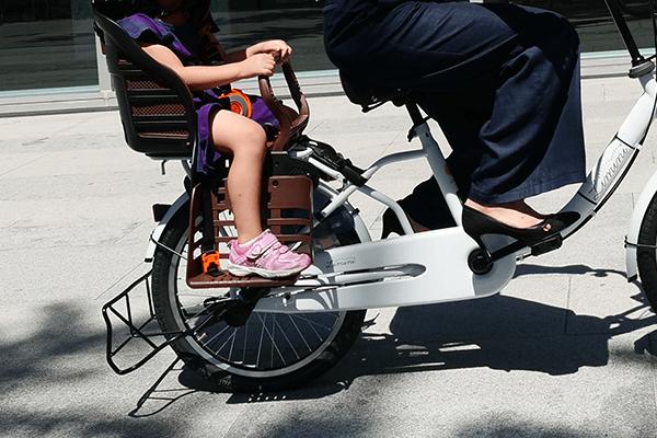 子供乗せ自転車に乗車可能な年齢