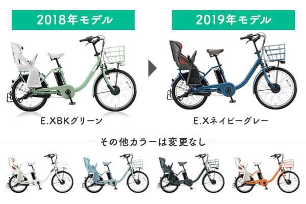 2019年モデルの変更点_カラー