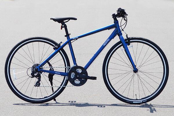スポーツバイクの「イイとこどり」。それがクロスバイク!